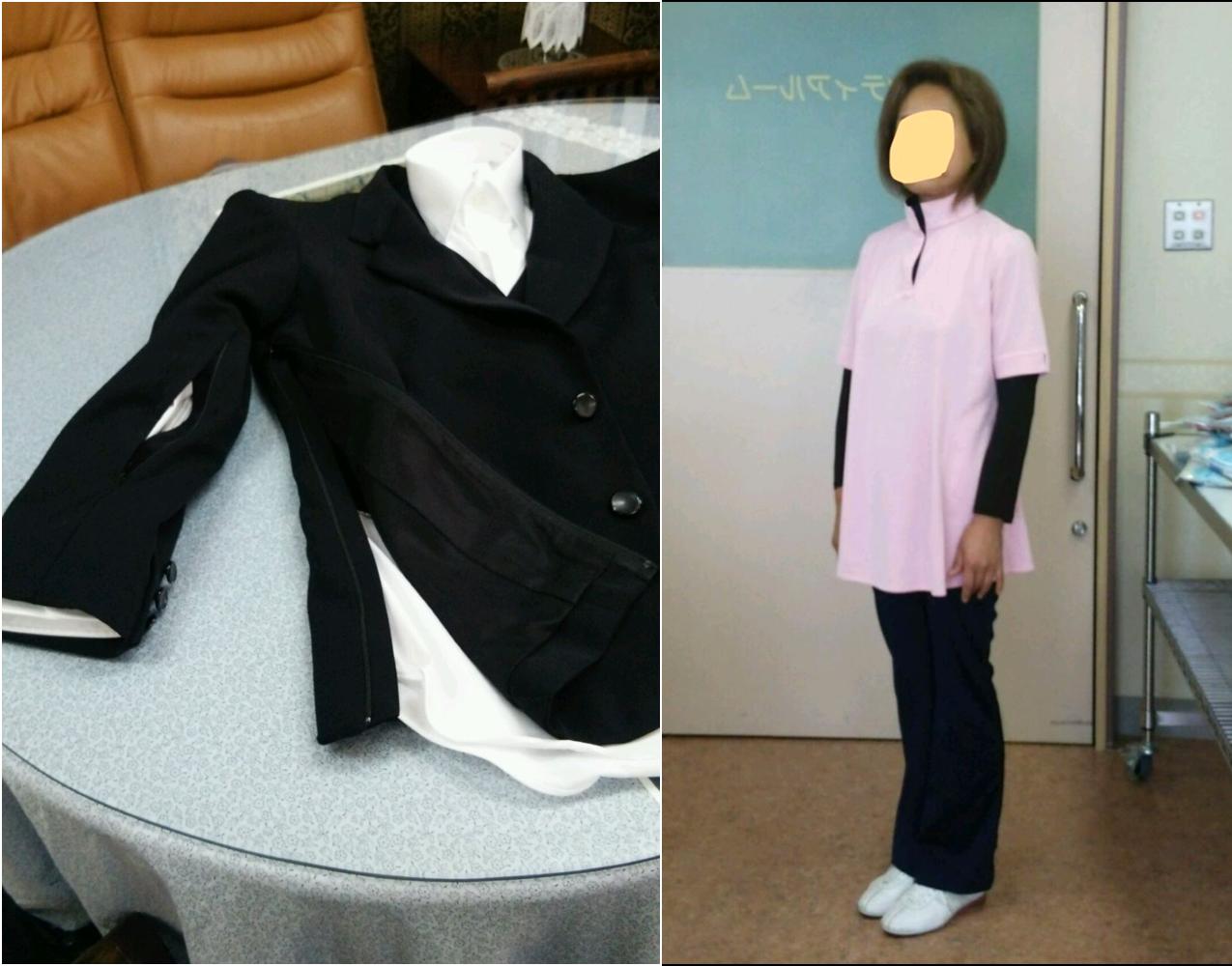 セレモニードレス、介護施設制服