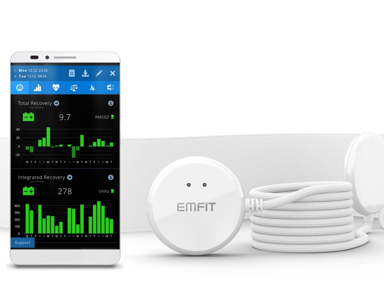 EMFIT QS + ACTIVE™ (非接触式健康モニター)